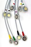 EKG electrodes poster