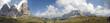 Panorama Langkofelgruppe - Sella