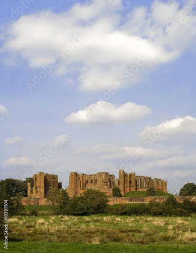 poster of kenilworth castle warwickshire the midlands england uk