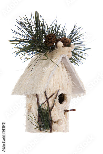nestling box- Christmas decoration
