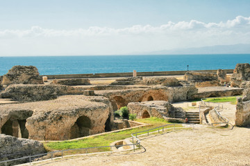Ancient ruins in Carthage