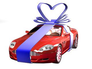 car in gift