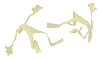 Paperman, Falling
