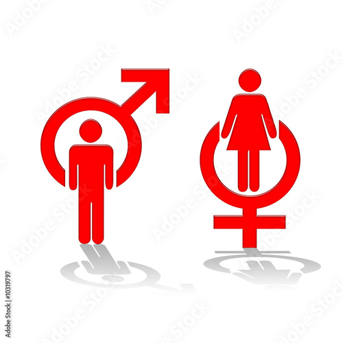 symbole homme femme from phil good royalty free stock photo 10319797 on fotolia co uk