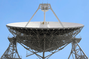 Huge radio telescope the Quasar