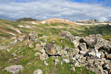 Tundra scenery at Loveland Pass, Colorado