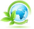 Concept planète terre écologique