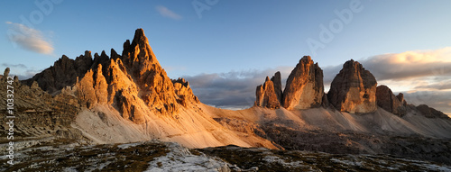 Leinwandbild Motiv Montagna Dolomiti