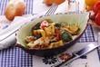 Spigola ai peperoni - Secondi di pesce - Ricette di Toscana