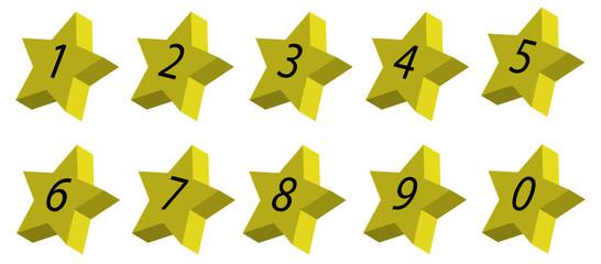 numeri stellati