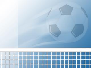 flying soccer football background design