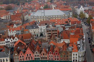 sur les toits de Bruges