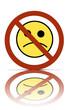 a no sadness symbol
