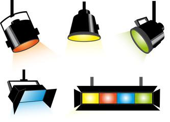 Five spotlights