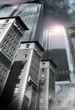 Architectural city scape