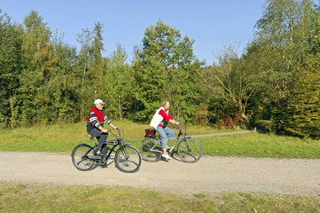 Sport, Radfahrerin, radfahren, Fahrradfahren