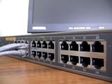 Gigabit ethernet 24-ports switch poster