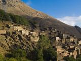 Atlas mountain, Morocco. Beauty small berber village. poster