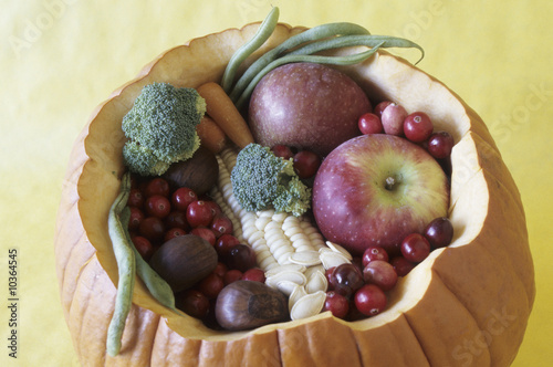 Autumn harvest bounty.