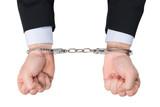 prison menottes incapacité esclave poing lier briser chaîne illé poster