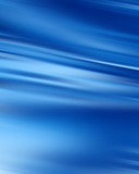 blue water wave with smooth lines in it poster