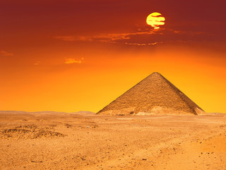 Great pyramid of Dashur (Red pyramid)