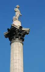 nelson's column memorial statue in london