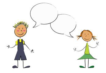 enfants dialogue