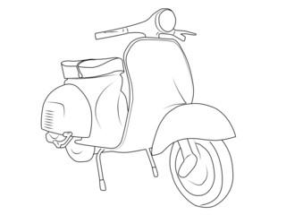 vecchio scooter