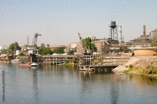 Papiers peints Egypte pôle industriel égyptien