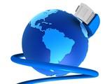 globales netzwerk poster