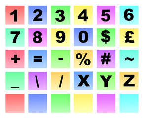 colour numbers