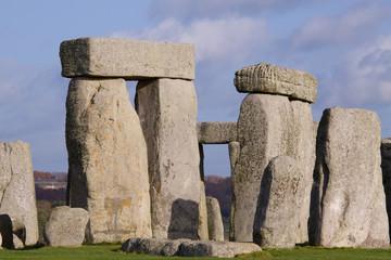 Stonehenge Sarsen Trilithons in detail