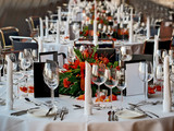 Fototapety festtafel, party tisch, HDR