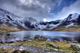 Fototapety Llyn Idwal and Winter in Snowdonia