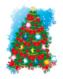 Evergreen Christmas Tree poster