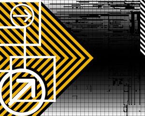 Futurisitc vector background