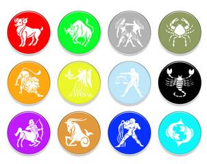 12 signes du zodiaque