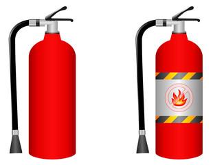 fire extinguisher - vector