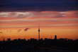 Fototapeten,wolken,sonnenuntergang,abend,skyline