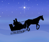Night Sleigh Ride