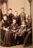 fotografie, starožitnosti, retro, rodina