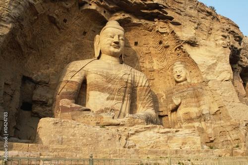 Budda w jaskiniach Yungang (Datong - Chiny)