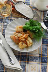 Coda di rospo all arancia - Ricette secondi di pesce - Sicilia