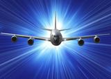 hight spedd aircraft poster
