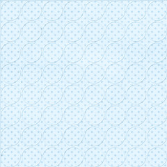 Blue dotted background with circles
