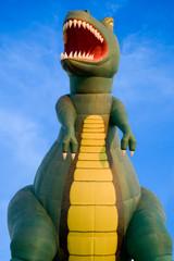 Dinosaurier Heissluftballon