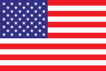 American Flag High Resolution