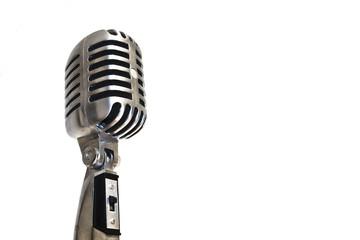 Microfono Profesional Vintage