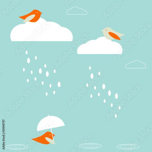 Obraz Rain birds